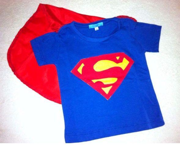 12f50cd1f Camiseta infantil super homem - Petit Look