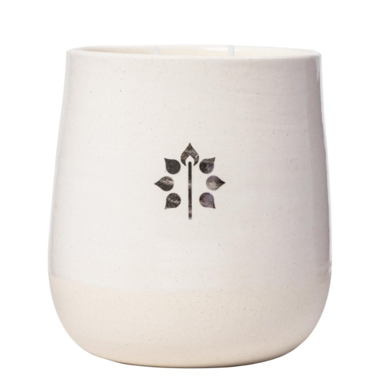 Vela na Cerâmica M | 60 horas (Refrescante)
