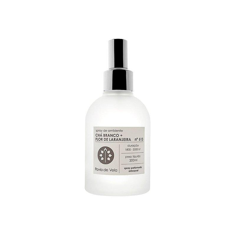 Spray de Ambiente | Chá Branco + Flor de Laranjeira - 200mls