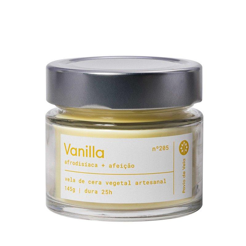 Vela Vanilla | 25 horas (Floral)