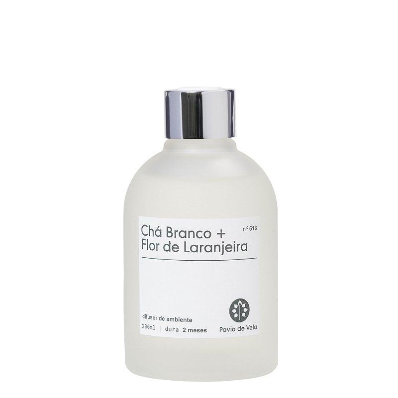 Difusor de Ambiente | Cha Branco + Flor de Laranjeira - 200mls