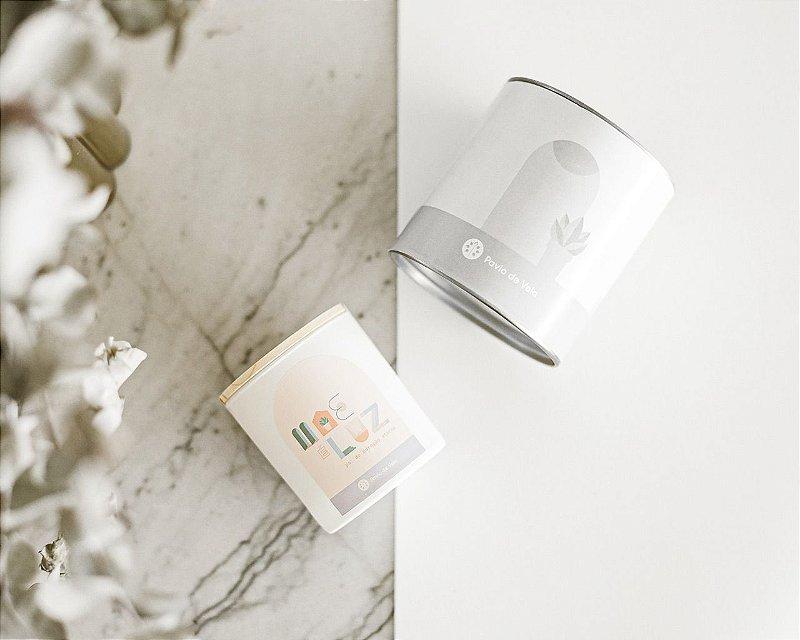 Presente | Mãe é Luz | Vela + Caixa + Acendedor + Saquinho