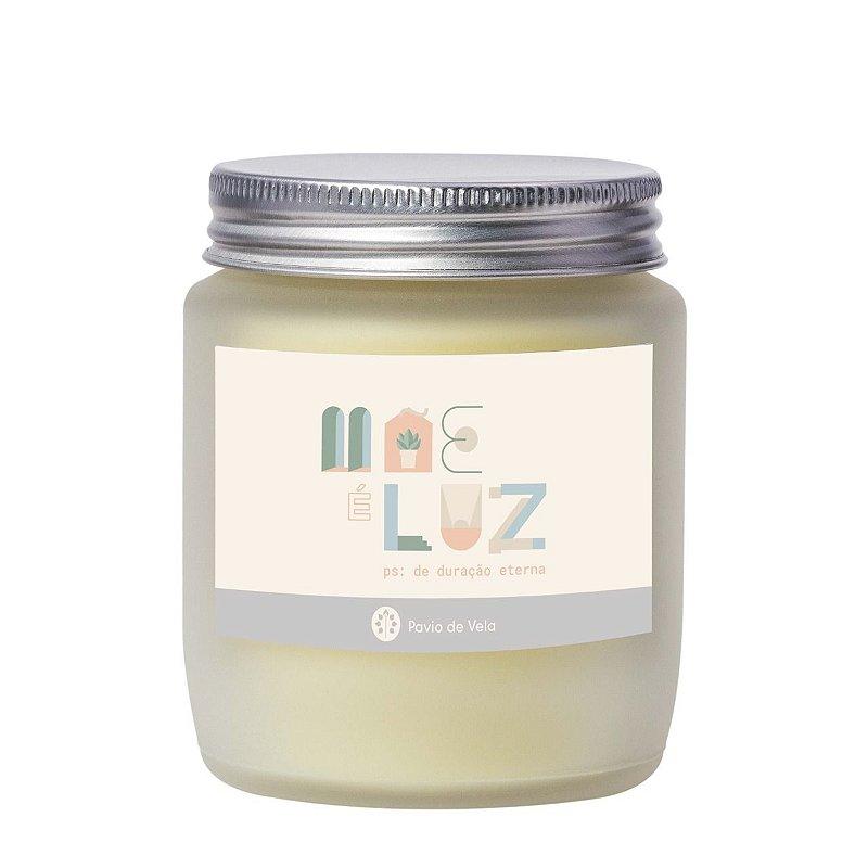Vela Cha Branco + Flor de Laranjeira | Mae é Luz