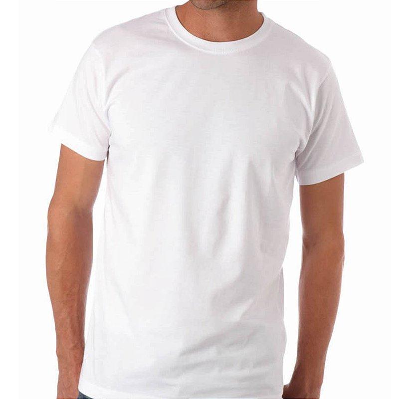 Camiseta Branca 100% Algodão - INDICE MALHAS 5a2c0054a6c