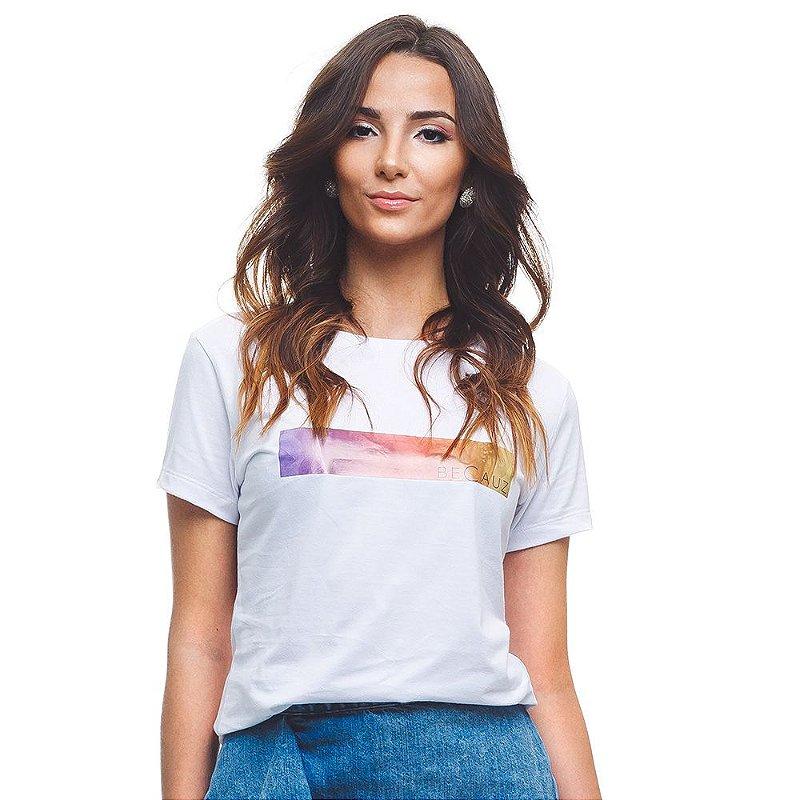 Camiseta BeCauz Feminina Visionários: Mandela