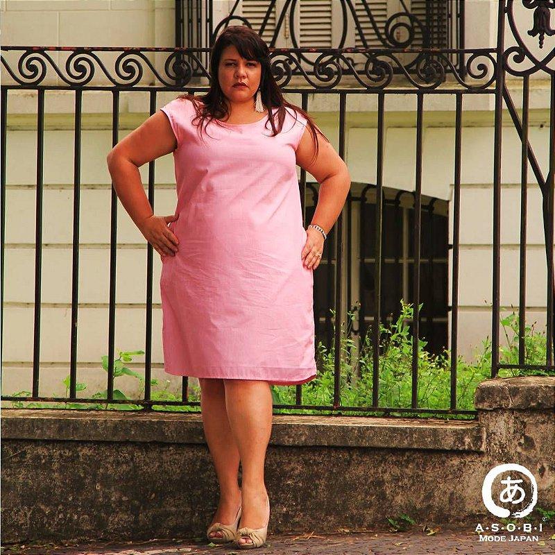 Vestido Linha ZEN PINK com Bolsos