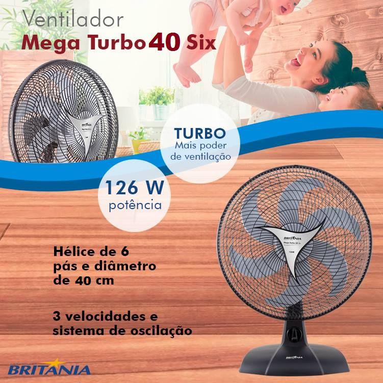 f0e84906a Ventilador Mega Turbo 40 six - parceiroandrade.lojaintegrada.com.br