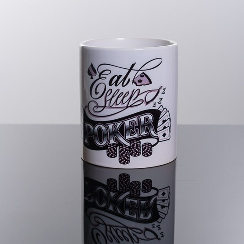 Caneca Eat Sleep Poker