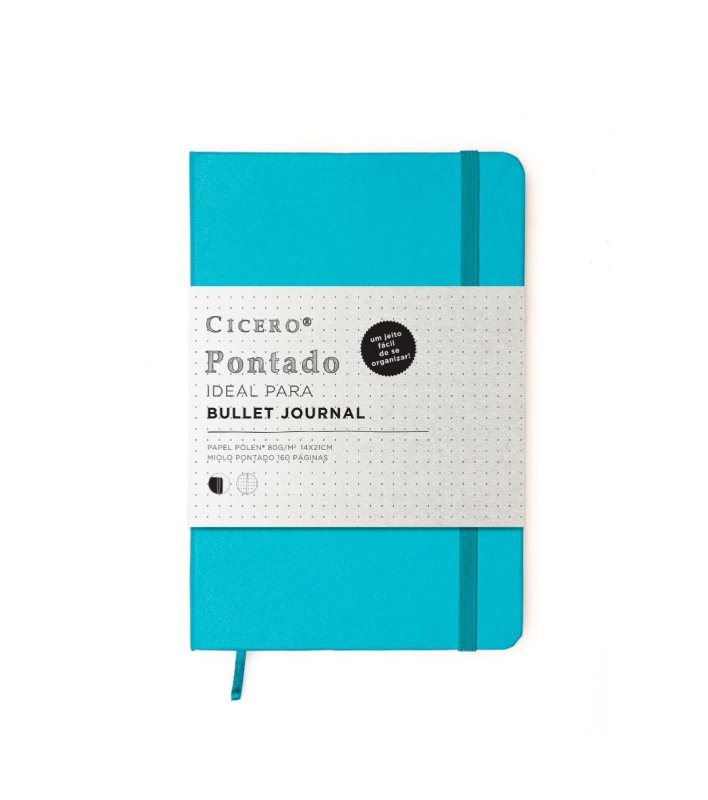 Caderneta Cicero Classica Turquesa