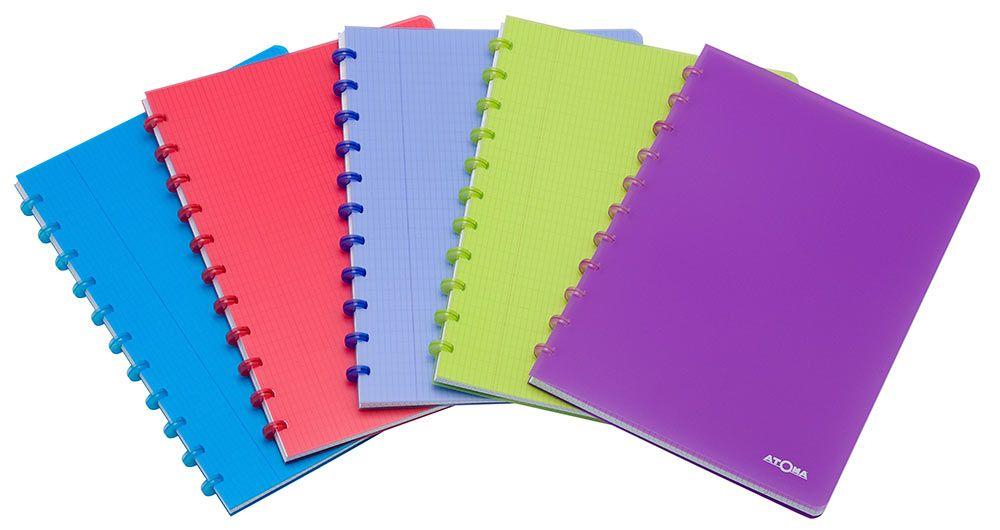 Caderno Atoma Transparent Pautado
