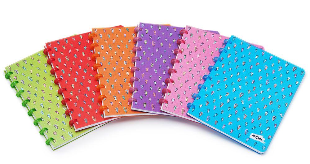 Caderno Atoma Heart Pautado A5