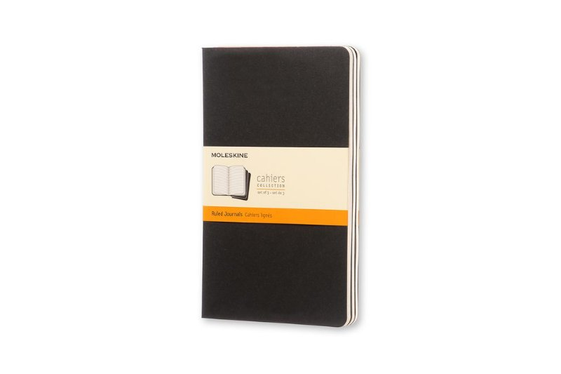 Conjunto 3 Cadernetas Moleskine Cahiers Collection Pautado