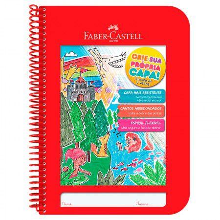 Caderno Faber Castell - Caderno Criativo