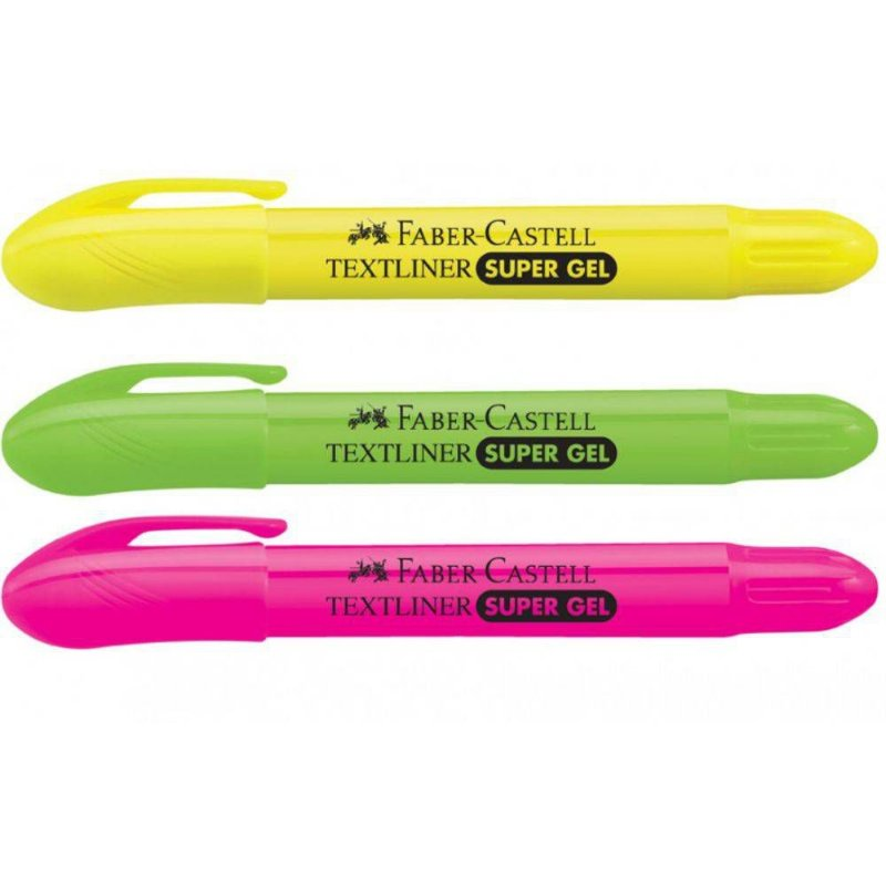 Marca texto Super Gel Textliner Faber Castell