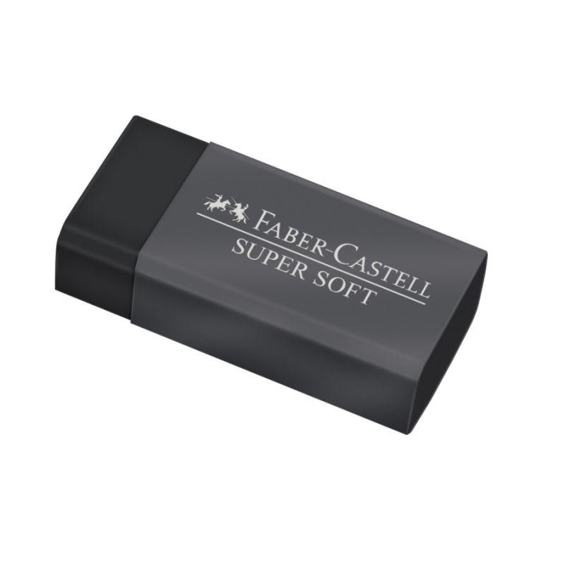Borracha Supersoft preta Faber Castell