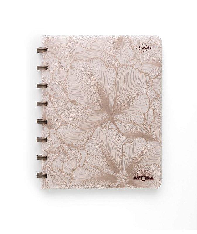 Caderno Atoma So Chic A5 - Flores - Edição Limitada