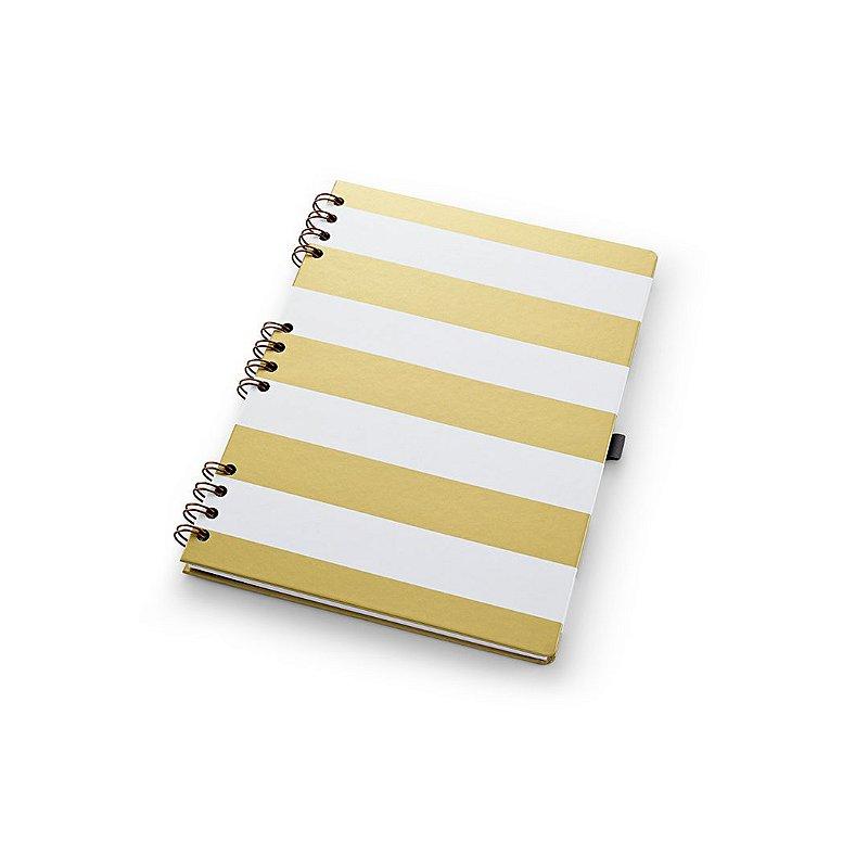 Caderno Otima Gold Kraft