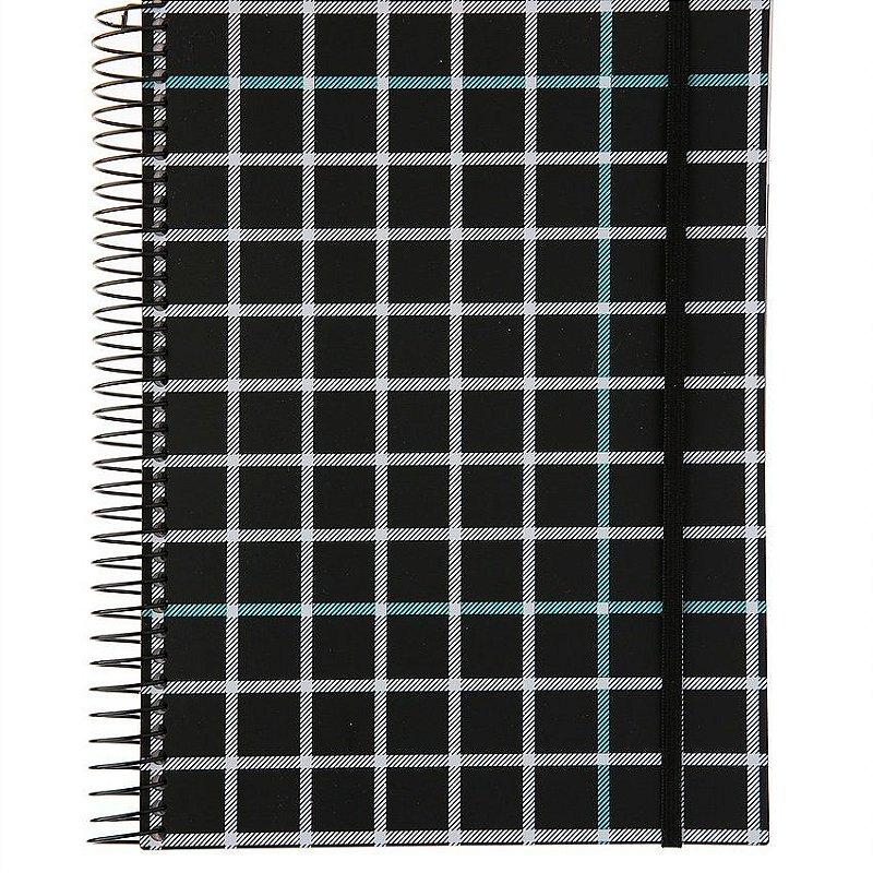 Caderno Universitario Confetti Capa Quadriculada