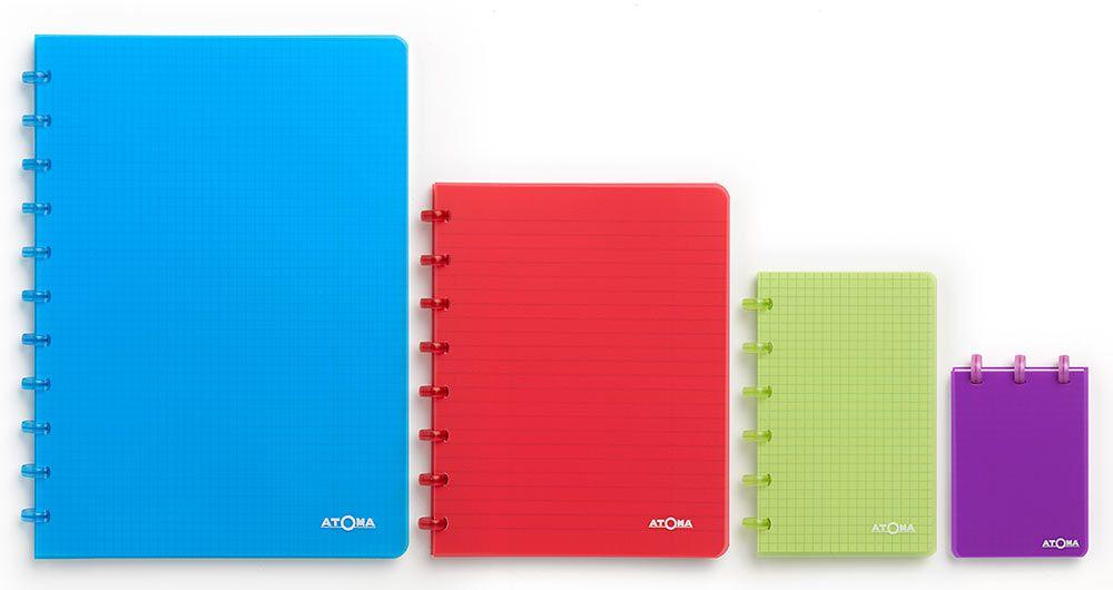 Caderno Atoma Transparent Quadriculado