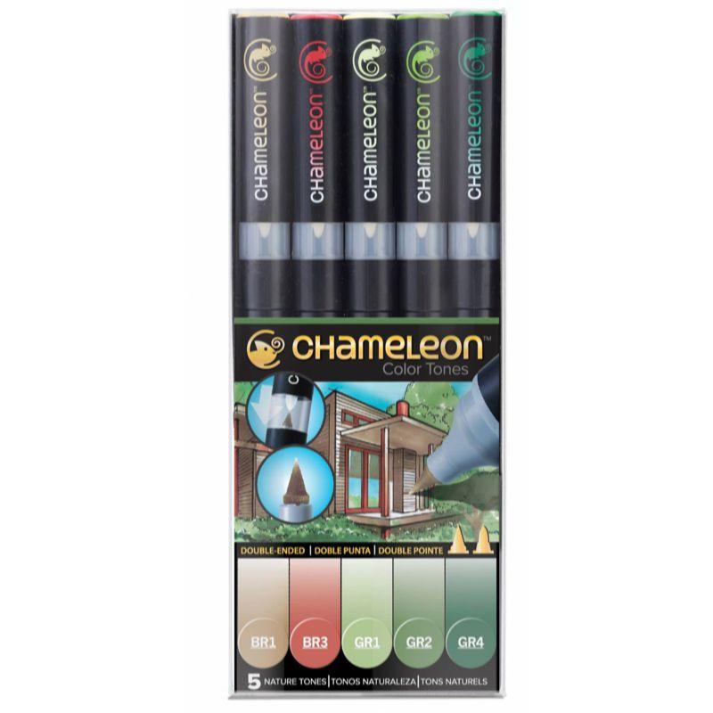 Marcadores Chameleon Color Tones - Tons da Natureza