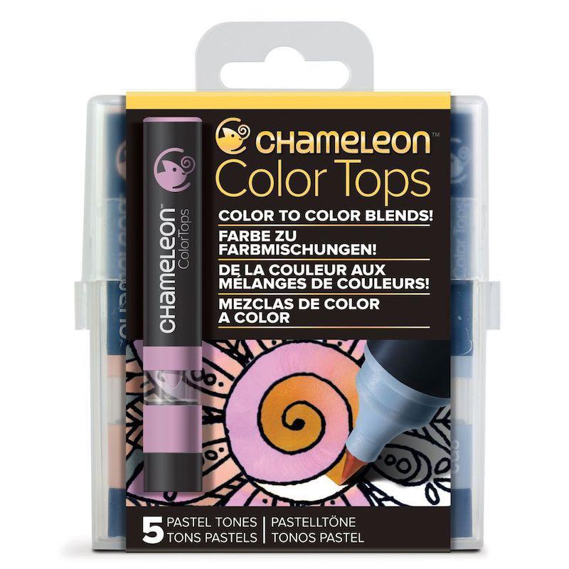 Marcadores Chameleon Color Tops - Tons Pastel
