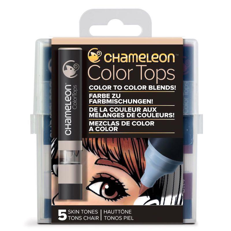 Marcadores Chameleon Color Tops - Tons de Pele