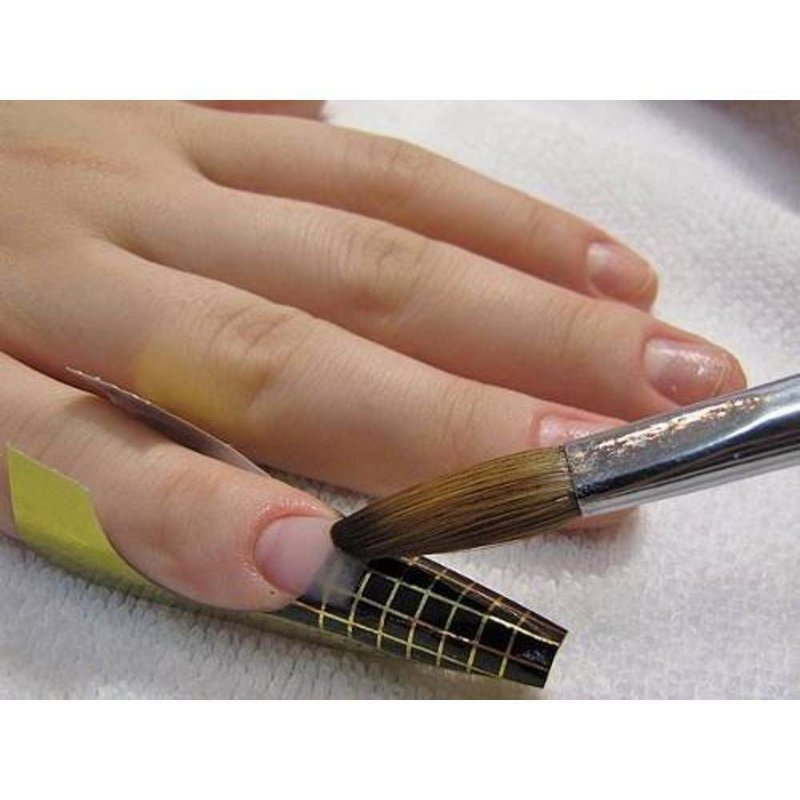 Moldes Adesivos de Papel para unhas de gel moldado e acrílicas