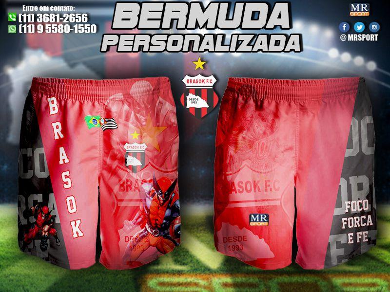 bd27ecbaf64dd Bermuda-Personalizada - Mr Sport