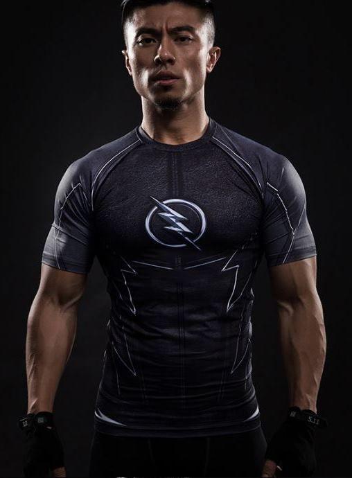 9c2ddd9abec03 Camisa Camiseta Heróis Zoom ( série Flash) Compressão Térmica e 3D ...