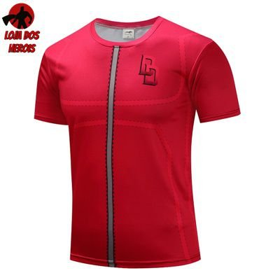 0a57969d99 Camisa Heróis Demolidor - Térmica e 3D Slim Fit ( Heróis