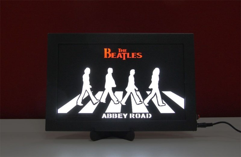 Luminoso Decorativo The Beatles