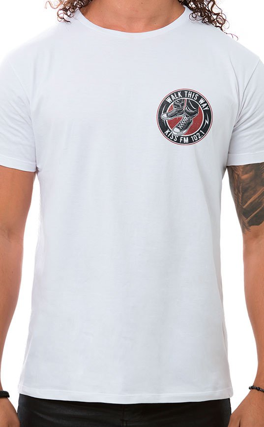 Camiseta Masculina Rock Shoes XT Branco