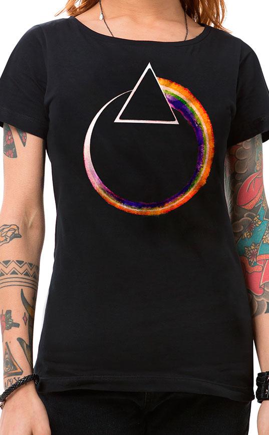 Camiseta Feminina Eclipse Preto