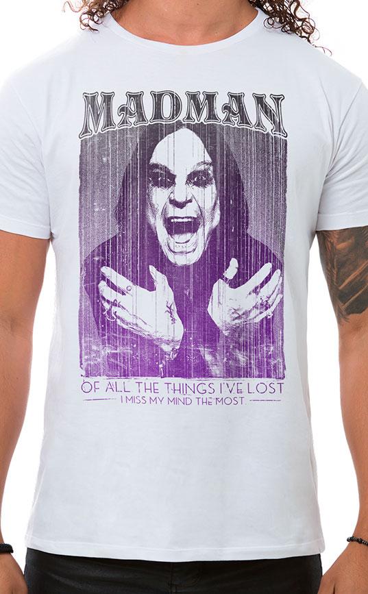 Camiseta Masculina Madman Branco