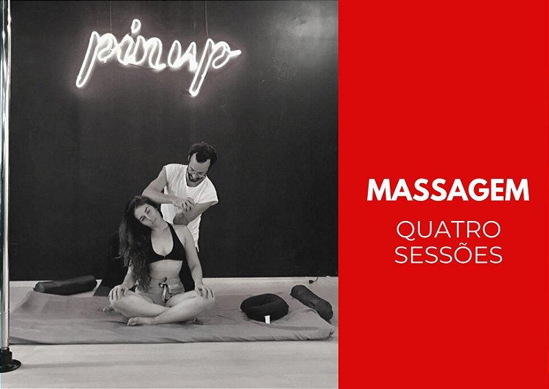 Massagem - Quatro Sessões