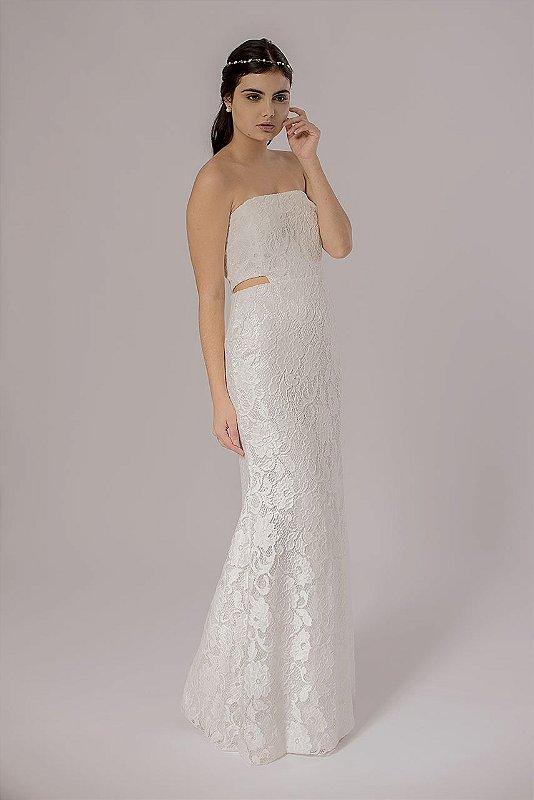 Vestido de Noiva Tomara que Caia Dora