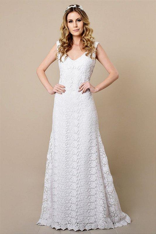 Vestido de Noiva Sereia Miranda