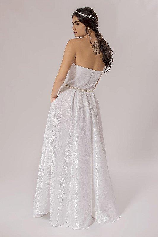 Vestido de Noiva Tomara que Caia Sissy