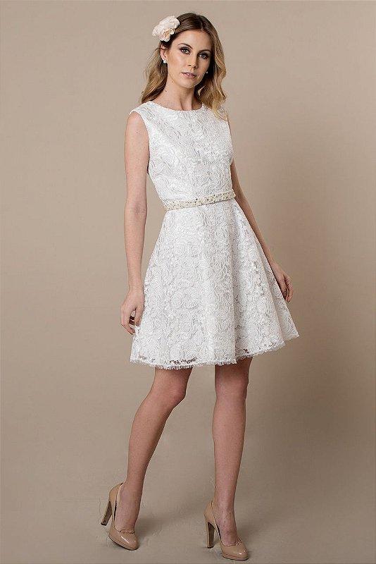 Vestido de Noiva Curto Ava