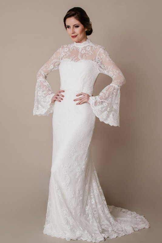 Vestido de Noiva Elza - Vlr. de Venda