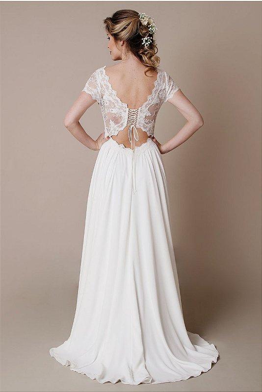 Vestido de Noiva Josie - Vlr. de Venda