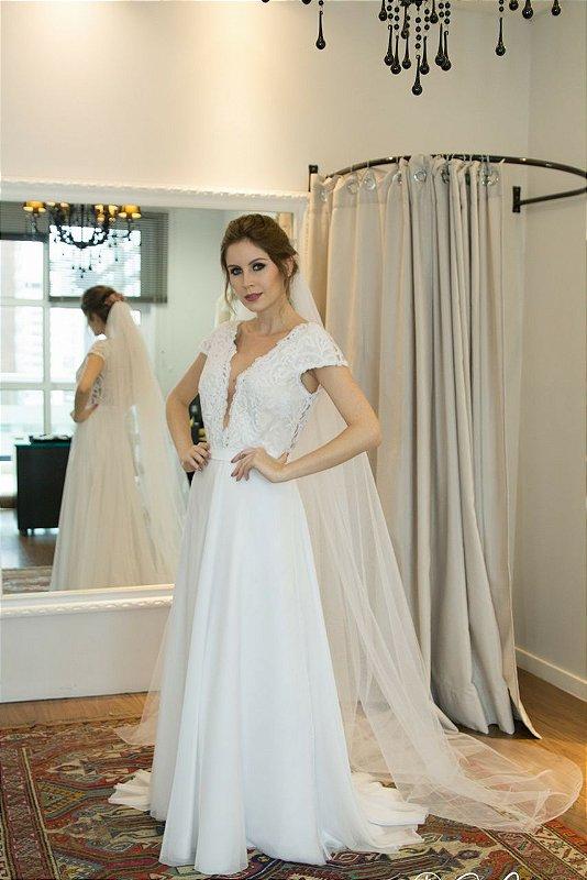 Vestido de Noiva Isadora - Vlr. de Venda