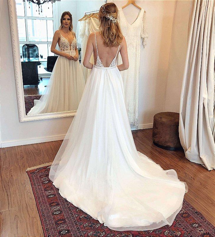 Vestido de Noiva Liz