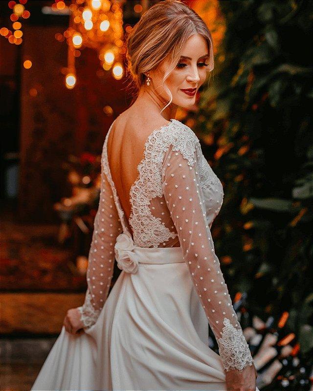 Vestido de Noiva Mara - Vlr. de Venda