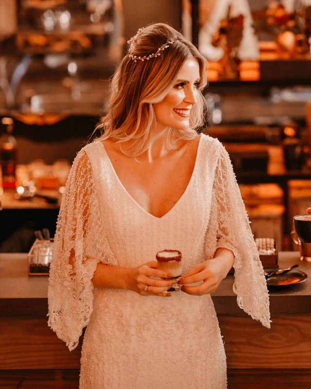 Vestido de Noiva Manon - Vlr. de Venda