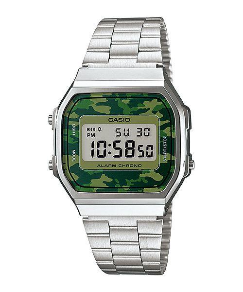 fa38f2cc10b Relógio Casio Vintage A168WEC-3DF - Arca Joias