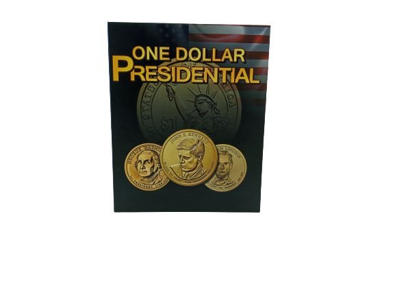 Álbum para moedas de 1 Dollar - Série dos Presidentes dos Estados Unidos
