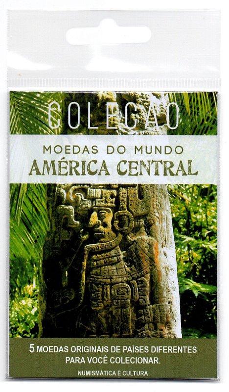 5 Moedas de Países Diferentes da América Central
