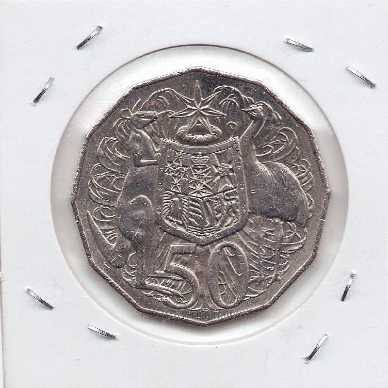 Moeda da Austrália - 50  Cents