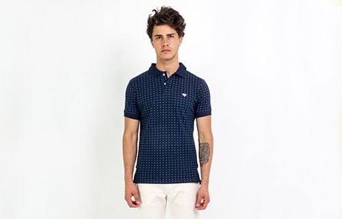 Polo Micro Estampa Dubai